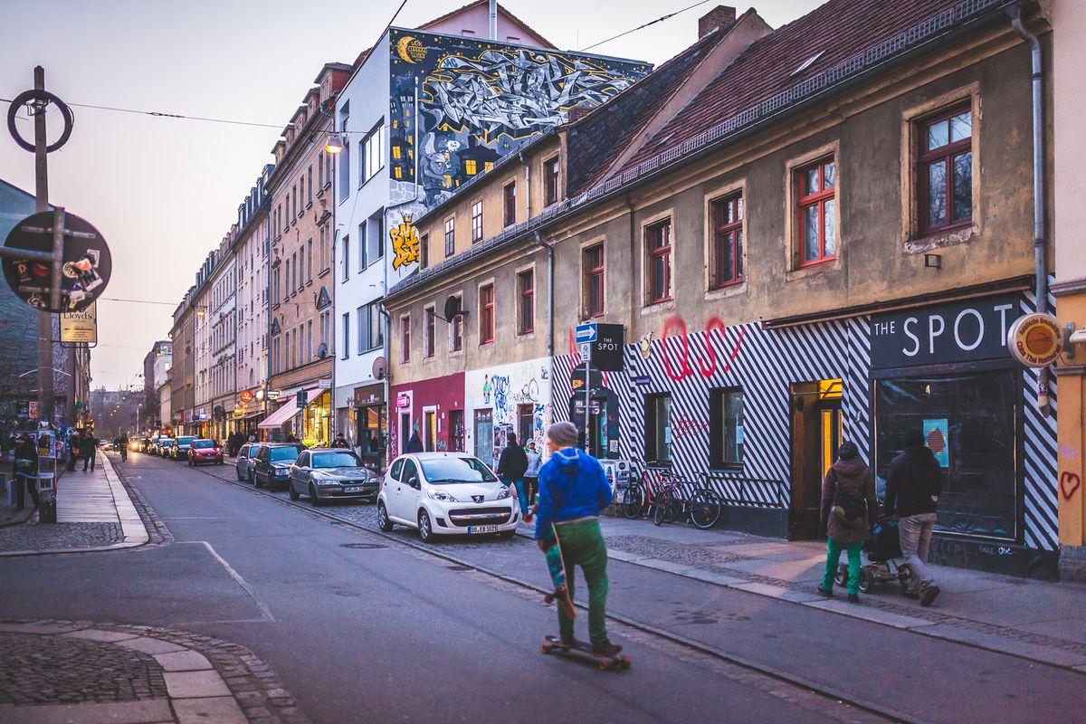Alaunstraße in der Dresdner Neustadt - Foto: Stephan Böhlig