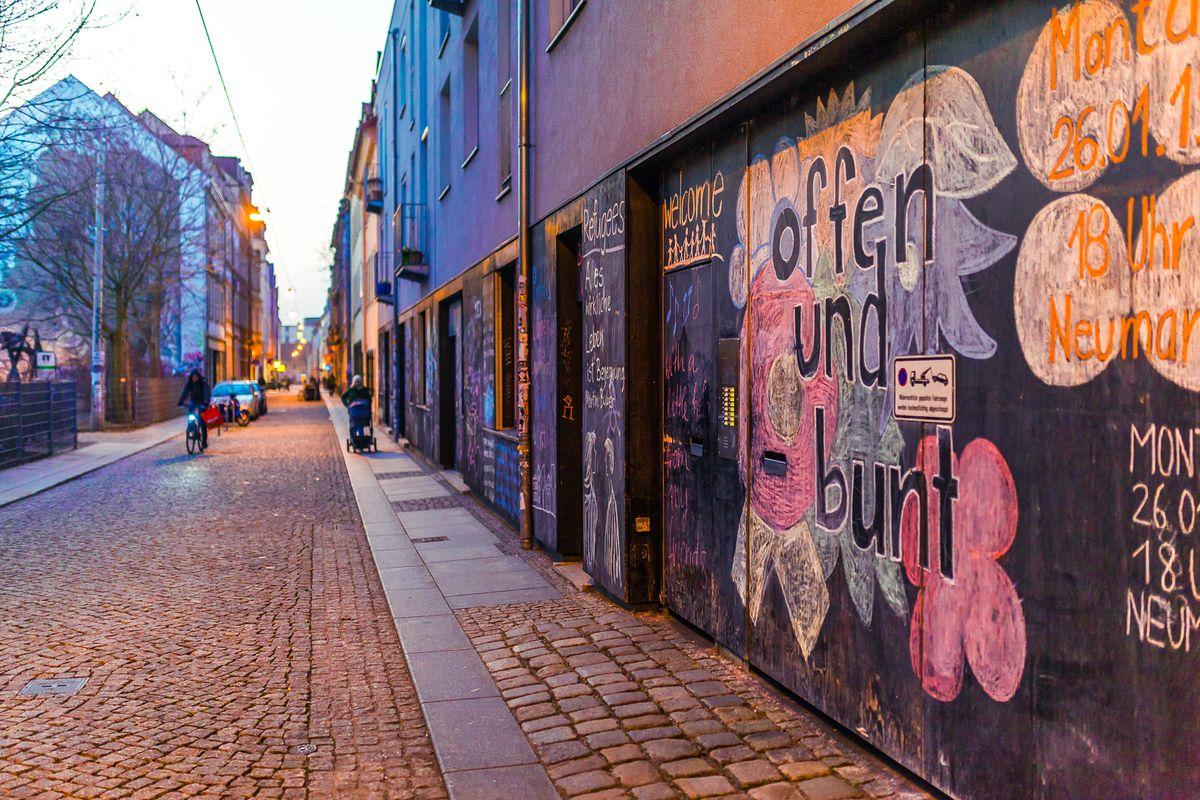 Böhmische Straße in der Dresdner Neustadt - Foto: Stephan Böhlig